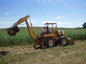 Industrial backhoe loader farmall amp international harvester ihc