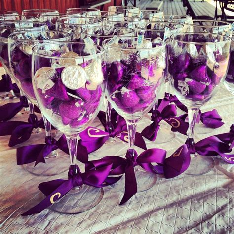 wedding favors chagne glasses 1000 images about bridal shower on