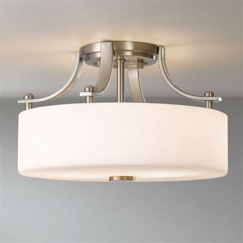 Modern Flush Mount Ceiling Light For Bathroom Tedxumkc Flush Mount Ceiling Light Modern