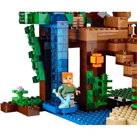 lego minecraft house lego 21125 the jungle tree house lego 174 sets minecraft