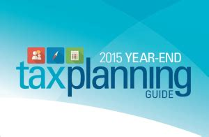 17520 Mba Yr 196 by 2015 Year End Tax Guide