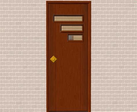 retro front doors mod the sims new mesh tresvisions retro front door