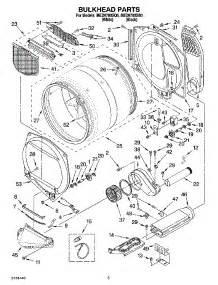 parts for maytag med9700sq0 dryer appliancepartspros