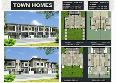 Floor Plan For House phirst park homes house and lot governors drive tanza