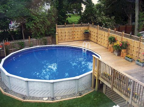 pool ideas top 105 diy above ground pool ideas on a budget pool