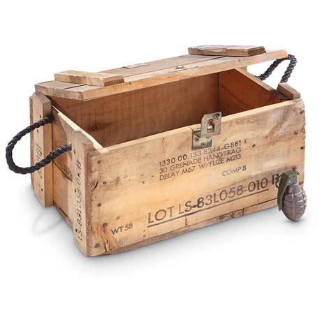 jeep wood box used u s surplus wooden grenade box project