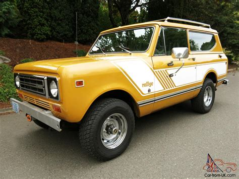 international scout ii extremely  maintained