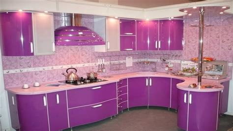 purple pink kitchen design ideas modern kitchen