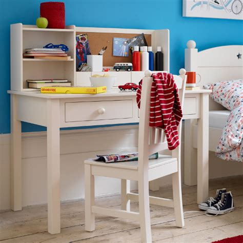 childrens white desk children s study furniture junior rooms
