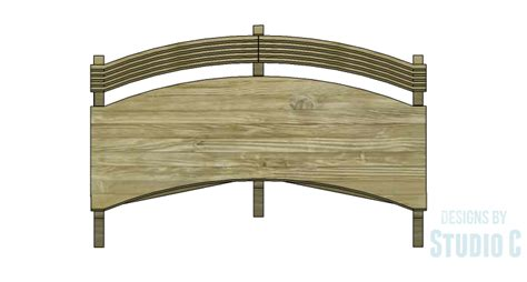 curved bench plans diy plans to build a curved seat bench