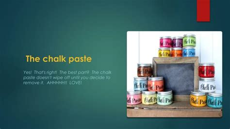 How To Decorate Pot At Home ppt about chalk couture powerpoint presentation id 7498910