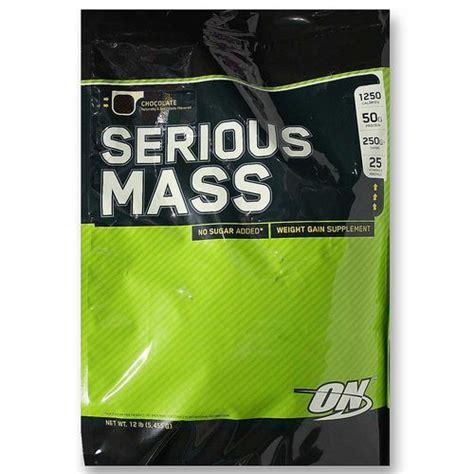 Optimum Nutrition On Serious Mass 2 Kg Repack Trial Size Weight Gainer optimum nutrition serious mass chocolate 12 lb