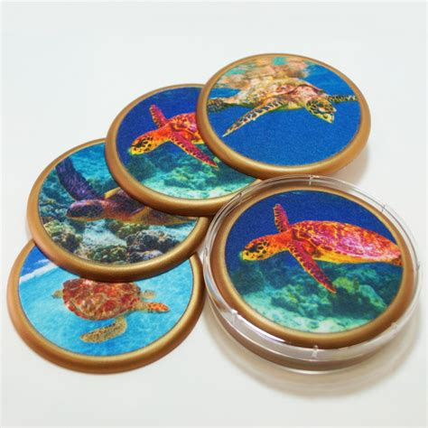 drink coaster sea turtle mug rugs drink coasters usa