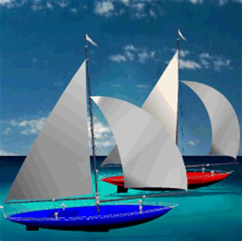 sailboat race - Sailboat Gif
