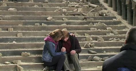 Comforting The Dying by Hermione Comforting After Of Fred Harry Potter Photo 20505430 Fanpop