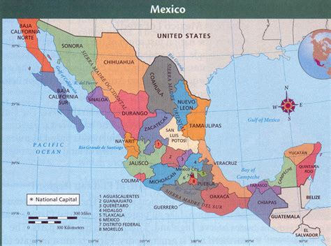 political map mexico mexico political kirkliv s