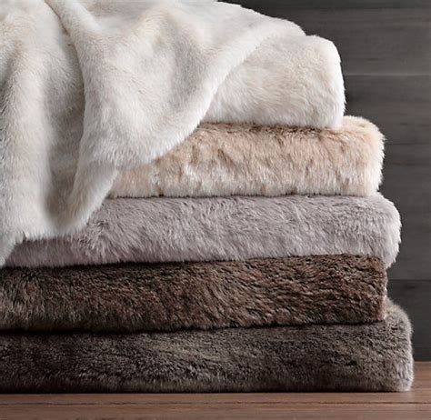 faux fur bed throw luxe faux fur bed throw natalie s room pinterest