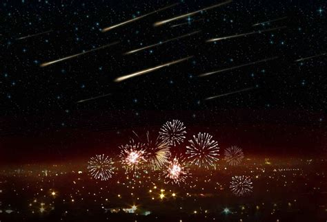Recent Meteor Shower by Meteor Shower On New Year S