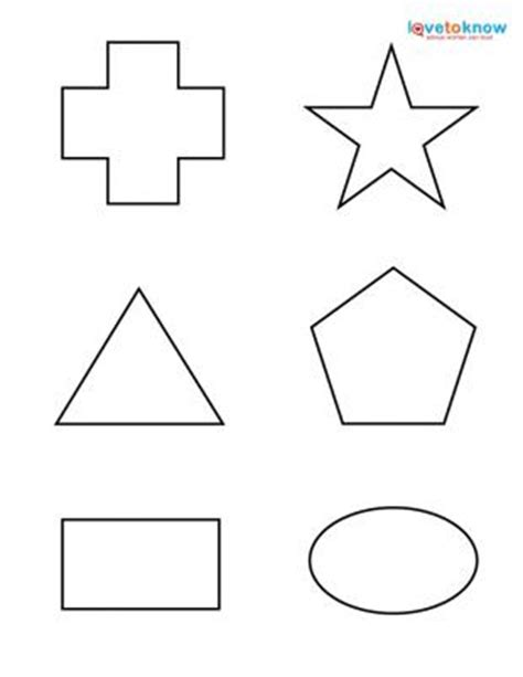 printable shapes for babies free worksheets 187 shapes printable free math worksheets