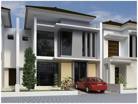 desain depan rumah kaca 65 desain rumah minimalis bertingkat terbaru desain