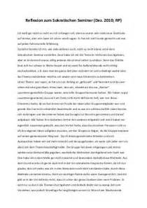 Reflexion Schreiben Muster Reflexion Schreiben Beispiel
