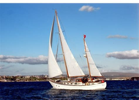 boat r huskisson 28 ton hillyard ketch wooden sailing yacht for sale