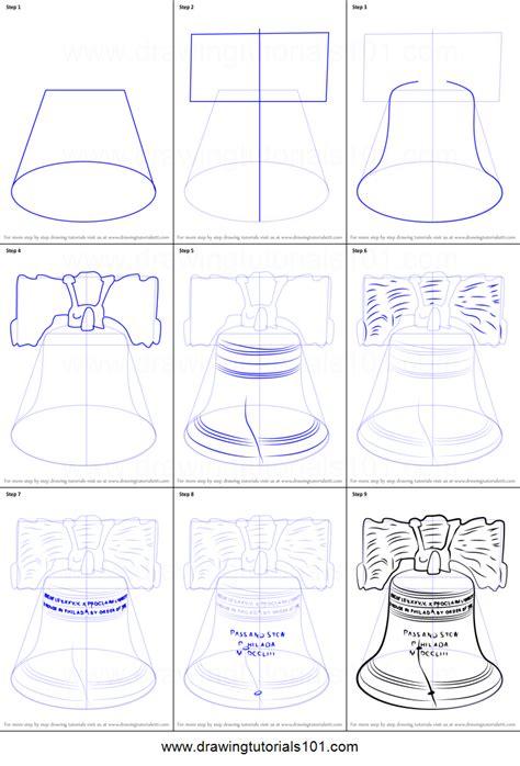 how to draw liberty bell how to draw liberty bell printable step by step drawing