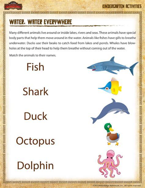 printable worksheets for kindergarten science science topics for kindergarten myideasbedroom com