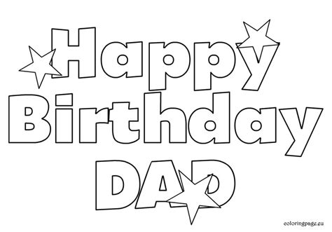 printable coloring pages that say happy birthday 7 best images of coloring printables from son happy