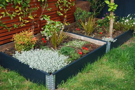 planter beds raised garden beds modular stackable planter boxes usa