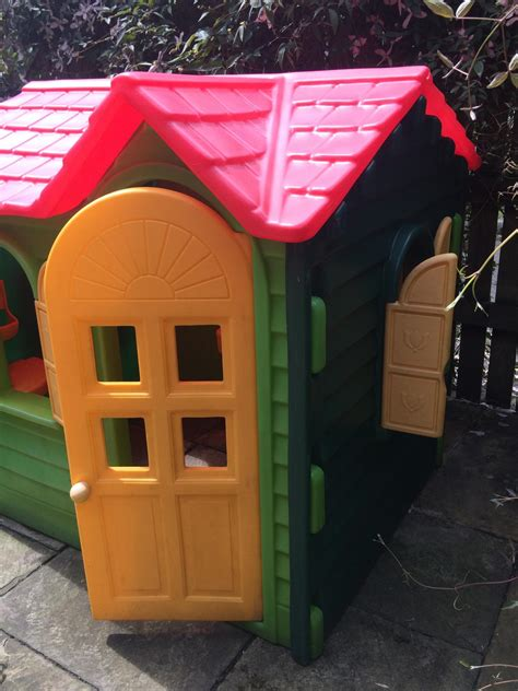 Country Cottage Playhouse Tikes by Tikes Evergreen Country Cottage Playhouse
