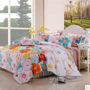 colorful sheets colorful floral trendy stylish size bedding sets