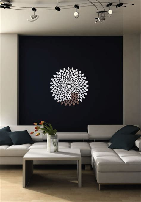 contemporary wall murals interior 3d reflective chrome wall decal contemporary wall