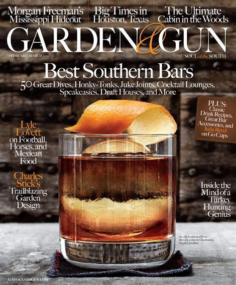 Garden And Gun Best Of The South 2015 Southern Bound Oxford American S Broadside Against Garden