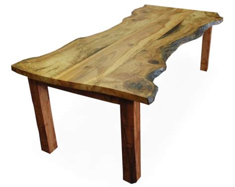 Table Tree by Tree Salvage Transforms Reclaimed Wood Into
