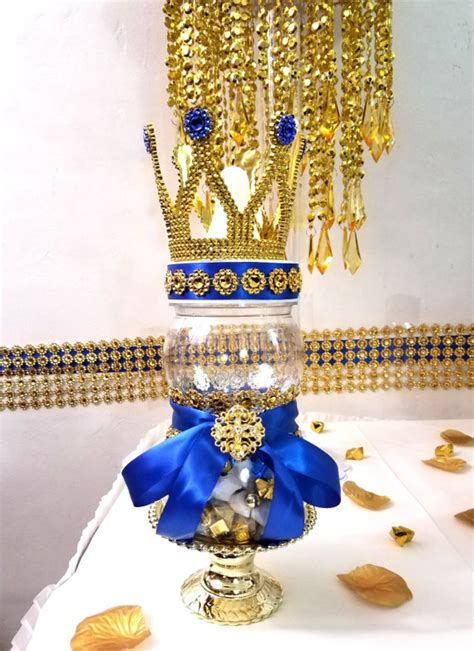 gold crown centerpieces crown bottle centerpiece for prince baby shower boys
