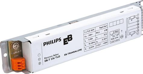Starter Lu Tl 36 Watt ebt 236 tld eb t electronic ballasts for tl d ls india