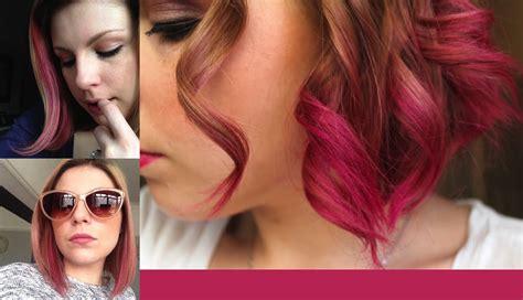 what color can i dye my hair how i dye my hair pink streaks dip dye
