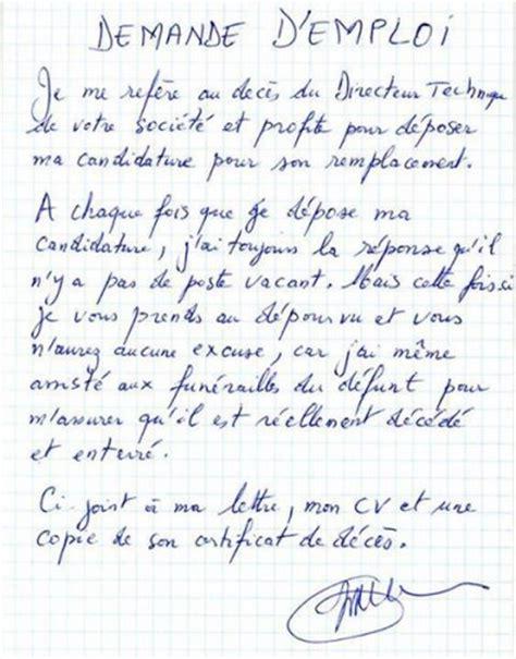 Exemple Lettre Demande D Emploi Chauffeur D 233 Finition De Demande D Emploi Concept Et Sens