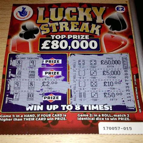 Card Winner by Scratch Cards National Lottery