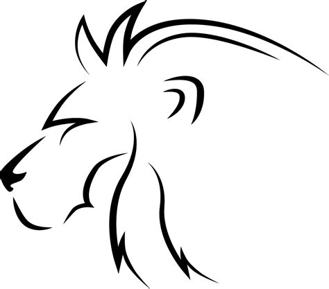 lion tattoo transparent png stickpng png transparent free images png only