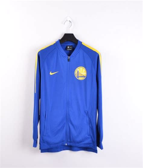 Jaket Nike Original Club Basket jual jaket basket nike nba golden state warriors tracksuit original biru baru jaket basket
