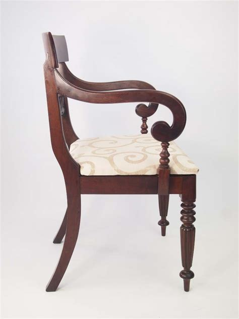 antique mahogany desk chairs antique william iv mahogany desk chair for sale