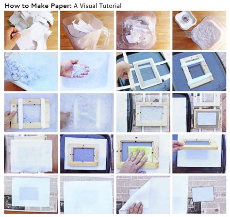 How To Make Photo Frame With Handmade Paper - how to make paper babble dabble do