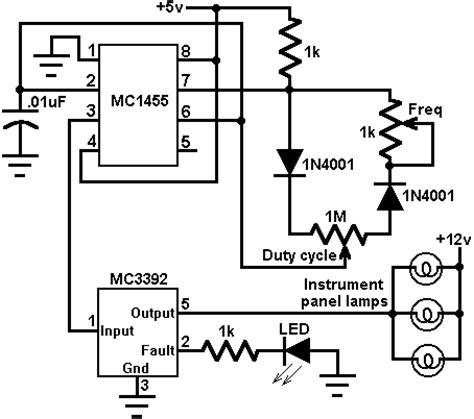 Stop Kontak Dimmer Light instrument panel l dimmer circuit diagrams