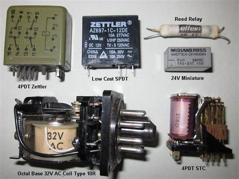 flyback diode contactor relays