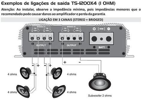 Aprenda Como Instalar A Taramps Ts1200x4 Tunados