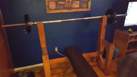 wooden bench press bench press made out of wood youtube