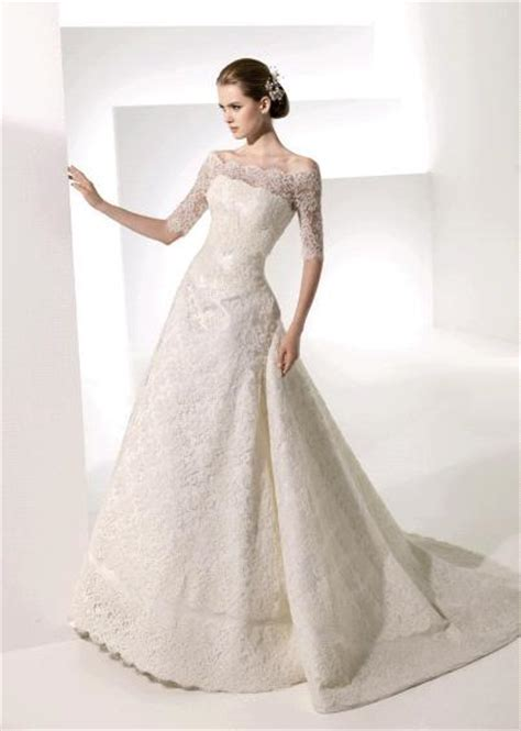 Fashion: Lace Wedding Dresses With Long Sleeves Images