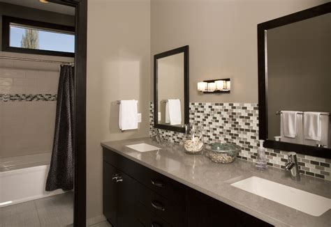 bathroom vanity tile backsplash ideas 25 bathroom backsplash designs decorating ideas design